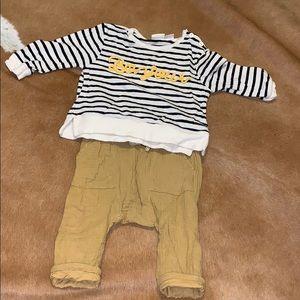 Zara baby boy outfit